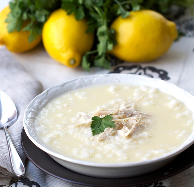 Greek Chicken Soup for the soul recipe