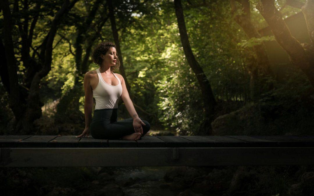 Dina talks yoga with VoyageTampa